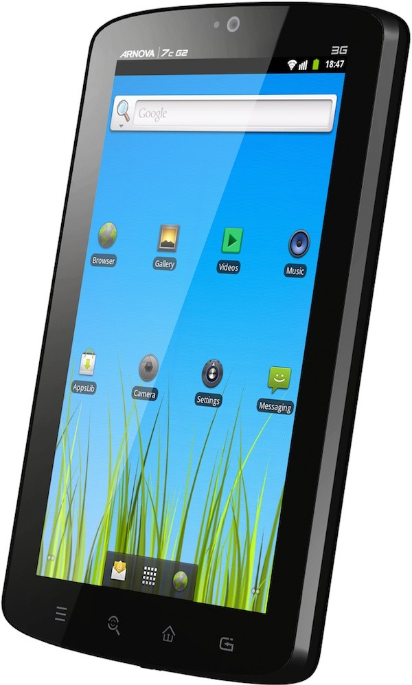 mobile Devices Arnova 7c G2: 7-Zoll-Android-Tablet mit 3G, WiFi, kapazitivem Multitouch-Display und GPS  - News, Bild 1