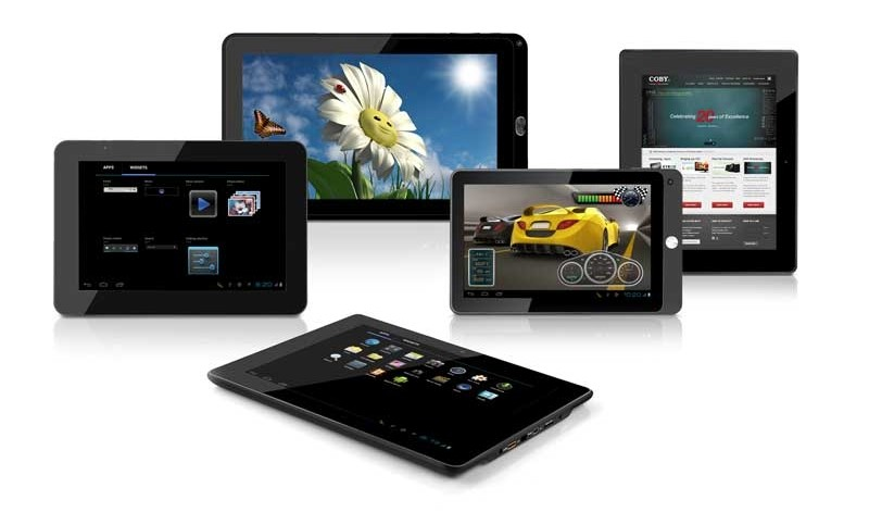 mobile Devices Coby Electronics präsentiert zur CES fünf neue Internet-Tablets mit Android 4.0 OS - News, Bild 1
