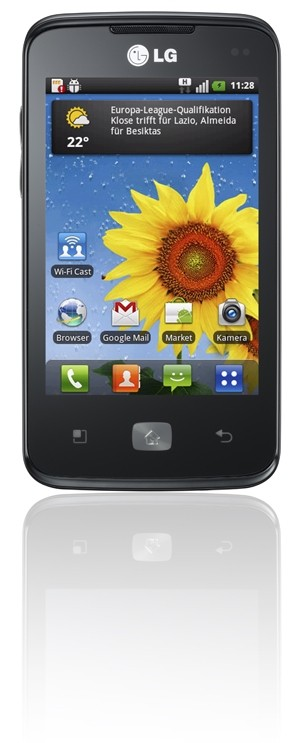 mobile Devices Das Smartphone, das jeden vernetzt: LG Optimus Hub - News, Bild 1