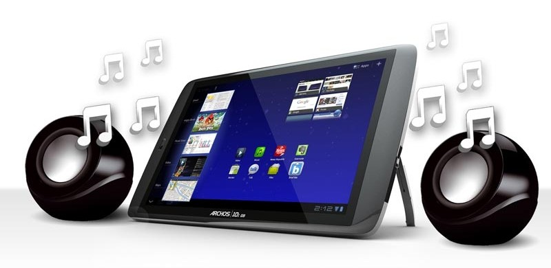 mobile Devices Die Sound-Kugel für Tablets: ARCHOS Stereo-Kugellautsprecher - News, Bild 1