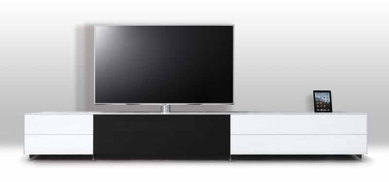 einfach einstecken spectral bietet tv m bel mit integrierter docking station. Black Bedroom Furniture Sets. Home Design Ideas