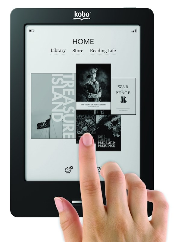 mobile Devices ElectronicPartner führt den Kobo eReader Touch Edition ab sofort im Sortiment - News, Bild 1