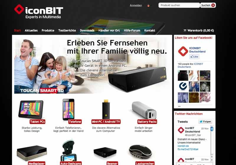 mobile Devices iconBIT launcht eigenen Online Store  - News, Bild 1