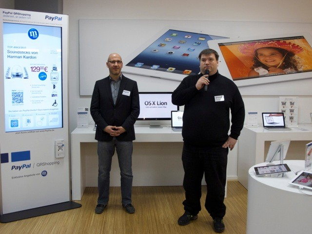 mobile Devices mStore startet QR-Shopping mit PayPal - News, Bild 1