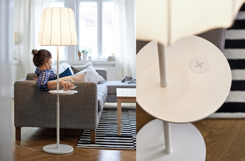 Neue Ikea Möbel Erlauben Drahtloses Laden Von Smartphones Und Tablets