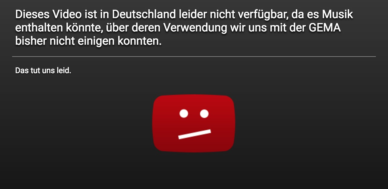 mobile Devices Schluss mit gesperrten Musikvideos: YouTube und Gema einigen sich nach sieben Jahren - News, Bild 1