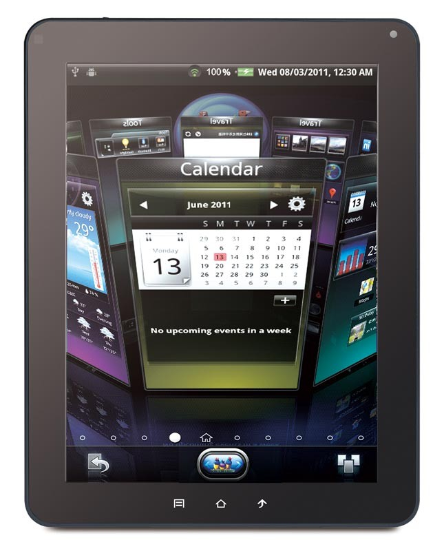 mobile Devices ViewPad 10e: schlanker Tablet-PC  mit IPS-Technologie - News, Bild 1