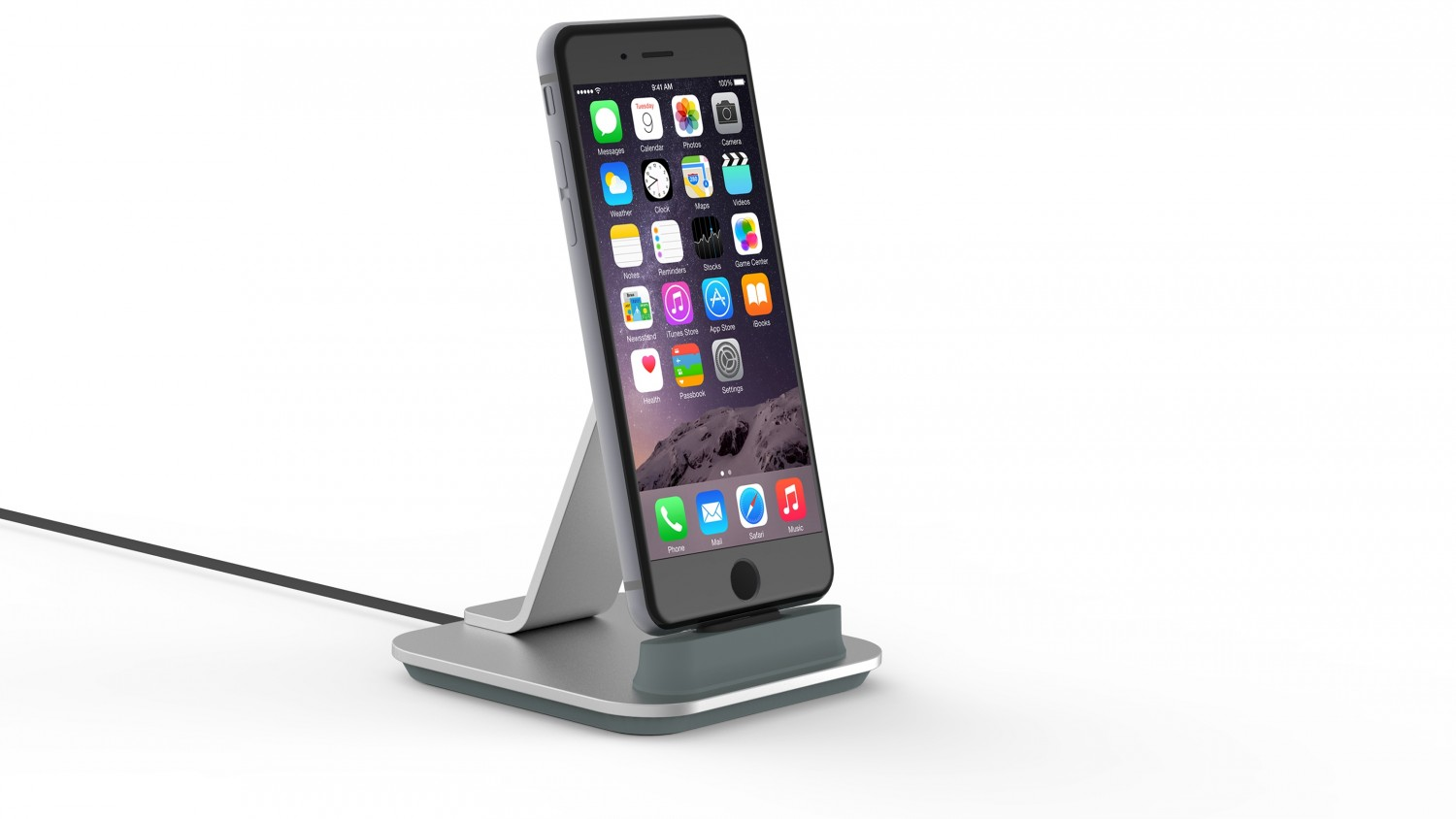 iphone 6 ladestation iphone 6s dockingstation ladestation. Black Bedroom Furniture Sets. Home Design Ideas