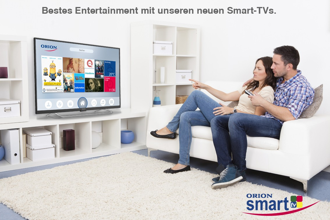 neue orion tvs mit smart funktionen wlan und uhd aufl sung. Black Bedroom Furniture Sets. Home Design Ideas