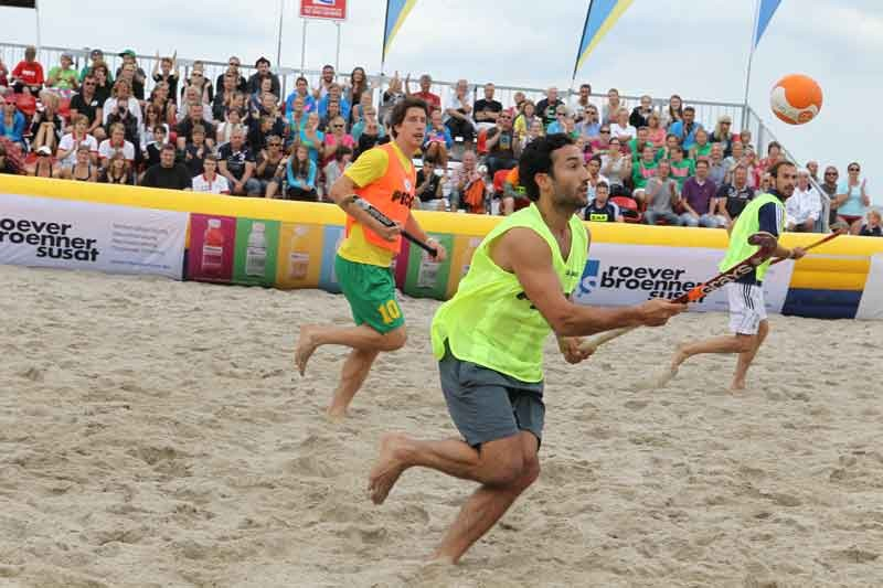 Foto & Cam Panasonic wird Partner der Beach-Hockey DM - News, Bild 1