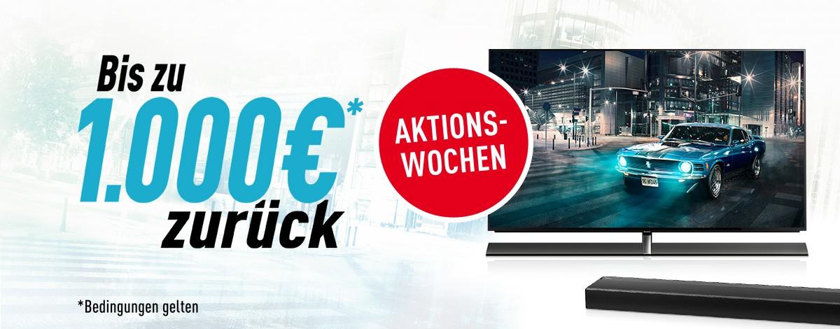 TV Bis 31. Dezember: Cashback-Aktion von Panasonic für Flat-TVs und Soundbars - News, Bild 1