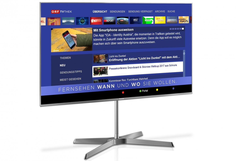 panasonic macht videoplattform orf tvthek auf allen smart. Black Bedroom Furniture Sets. Home Design Ideas