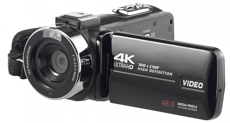 Foto & Cam UHD-Camcorder von Somikon - News, Bild 1