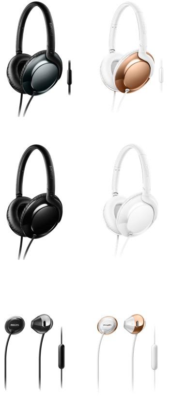 HiFi Extrem leicht für unterwegs: Neue Over- und In-Ear-Kopfhörer von Philips kommen - News, Bild 1