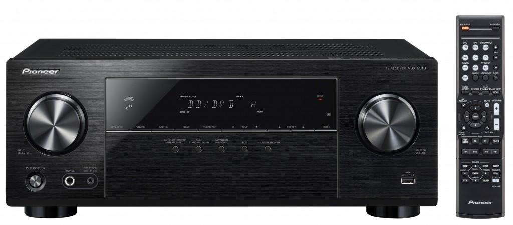 Heimkino Mehrkanal-Receiver VSX-531D von Pioneer steht in den Startlöchern - Ultra-HD und HDR - News, Bild 1