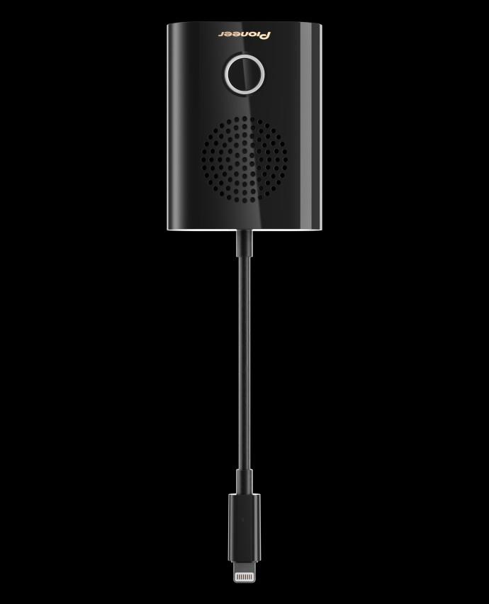 rayz rally lightning lautsprecher von pioneer f r iphone. Black Bedroom Furniture Sets. Home Design Ideas
