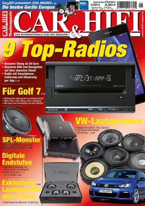 Car-Media CAR&HIFI – Neue Ausgabe mit den besten Produkten Europas - News, Bild 1