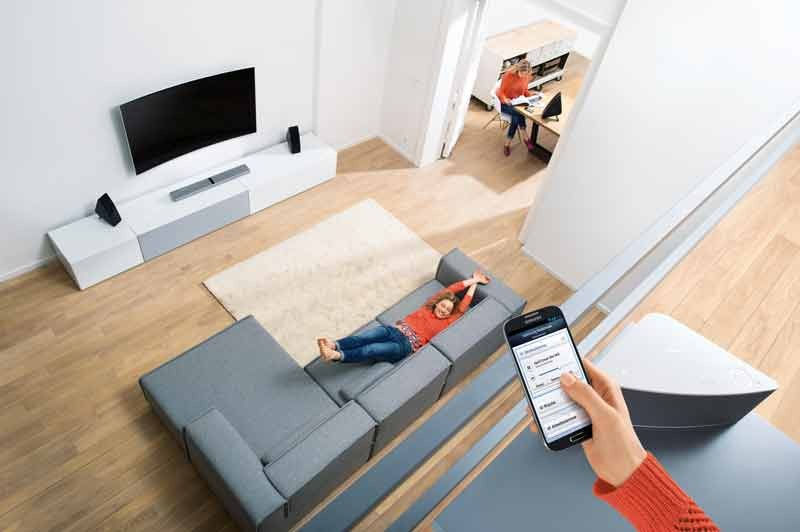 HiFi Samsung Wireless Audio Multiroom System: Musik-Streaming inklusive - News, Bild 1