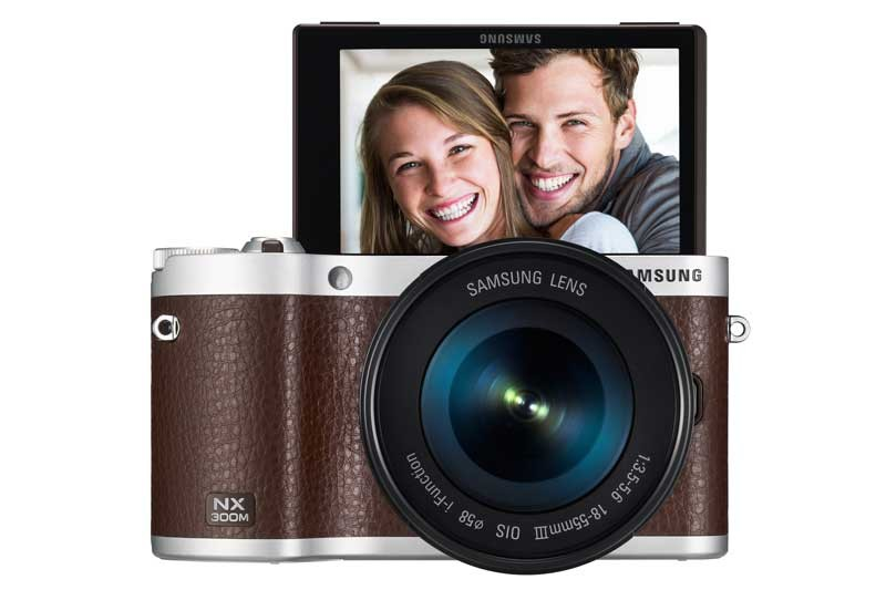 mobile Devices Samsung NX300M: Smarte CSC im edlen Retro-Look  - News, Bild 1