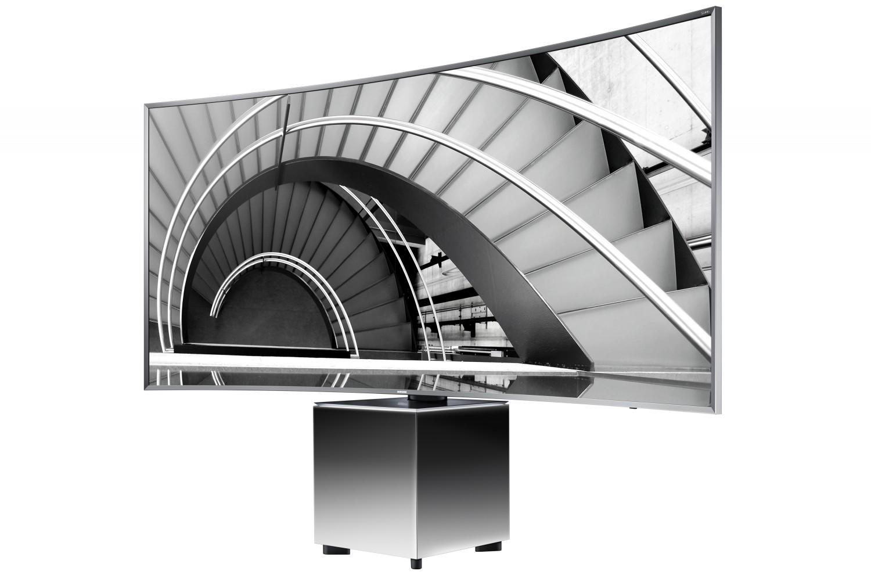 ifa 2015 f r stheten im wohnzimmer samsung design tv. Black Bedroom Furniture Sets. Home Design Ideas