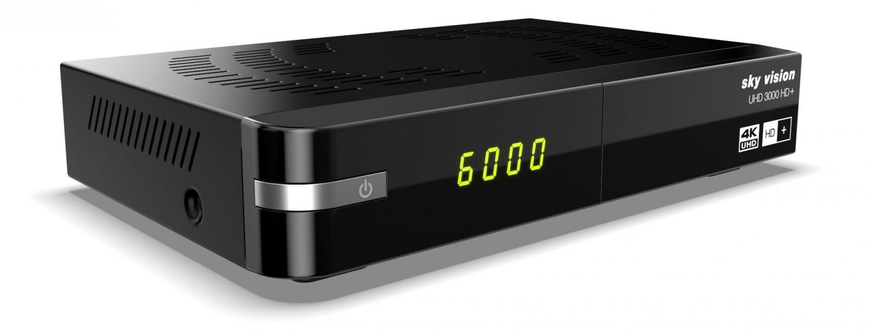 TV UHD-Receiver von Sky Vision mit Aufnahme-Option und HD+ - News, Bild 1