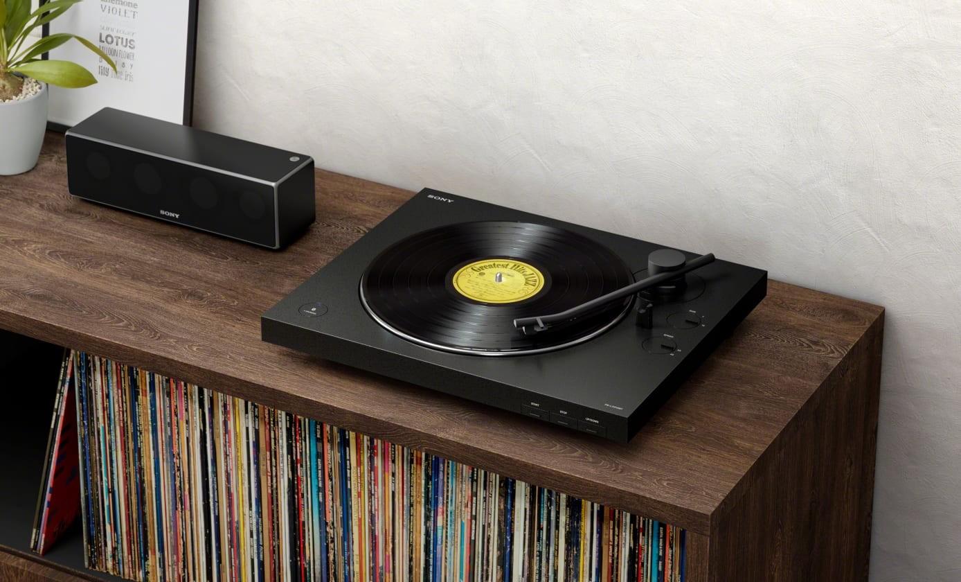 HiFi Kabelloser Plattenspieler von Sony - Im Set mit Bluetooth-Lautsprecher - News, Bild 1