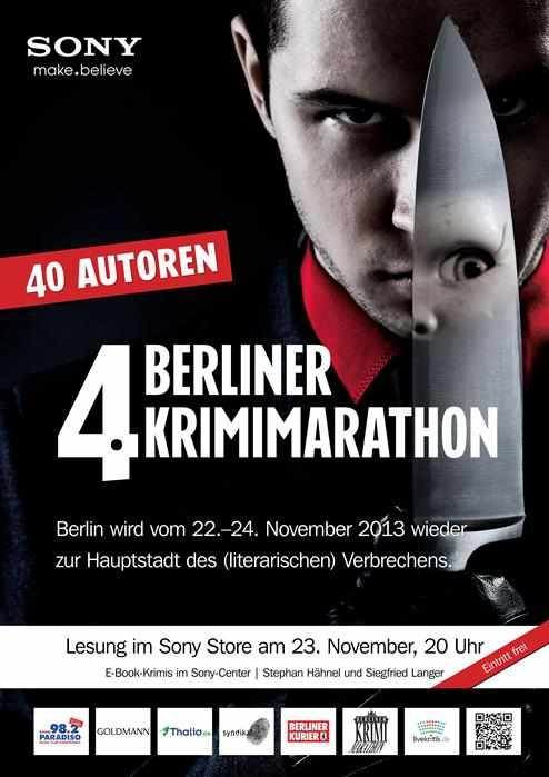 mobile Devices E-Book Krimi-Lesung im Sony Store am Potsdamer Platz in Berlin - News, Bild 1