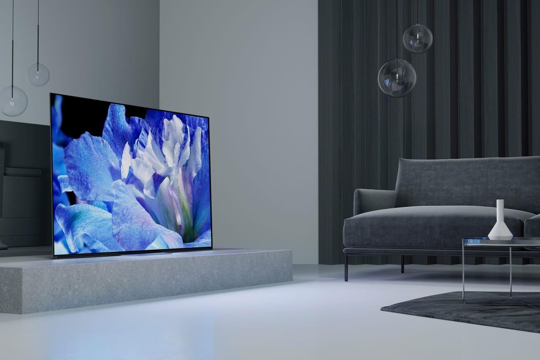 TV CES 2018: Das sind die TV-Neuheiten von Sony - OLED-Fernseher der Serie AF8 - News, Bild 1