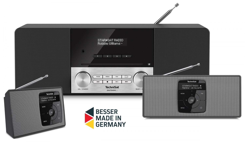 HiFi Drei neue Digitalradios von Technisat - Mit Akku und CD-Player - News, Bild 1