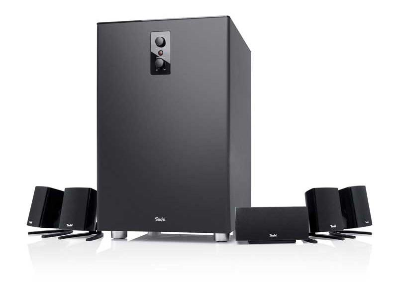 nur f r spiele fast zu schade gaming lautsprechersystem. Black Bedroom Furniture Sets. Home Design Ideas