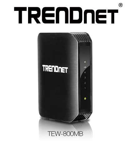 HiFi TRENDnet liefert AC1200 Wireless Media Bridge TEW-800MB - News, Bild 1