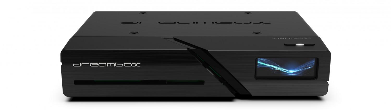 TV Ab April: Dreambox TWO mit Farbdisplay, CI-Slot, Bluetooth, WLAN und LAN  - News, Bild 1