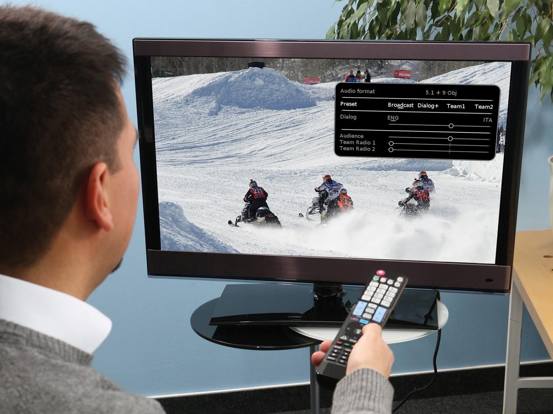 TV Hintergrund: Der TV-Ton steht vor einer Revolution - Mehr individuelle Optionen - News, Bild 1