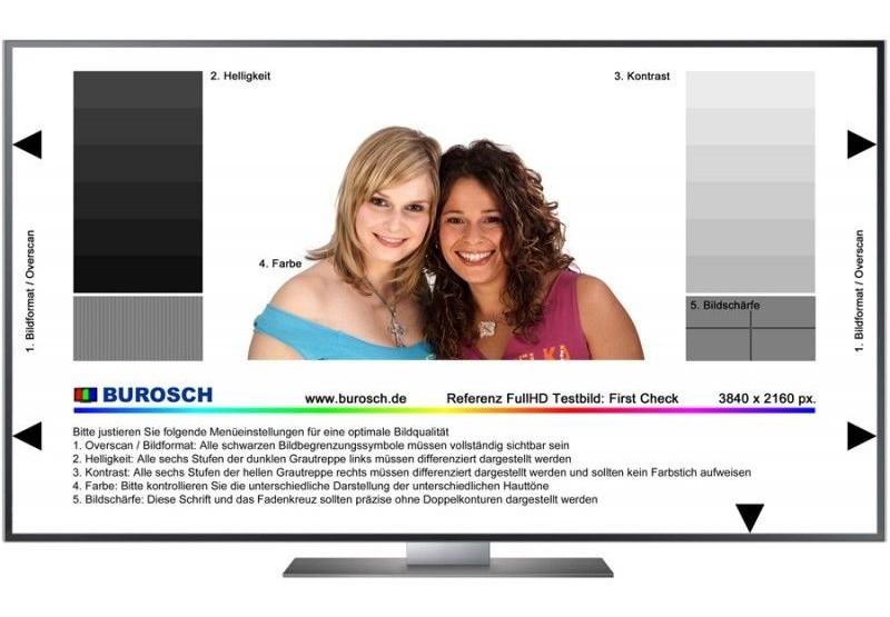 TV Jetzt im Shop von hifitest.de: Profi-Testbilder zur Optimierung von UHD- und Full-HD-TVs  - News, Bild 1