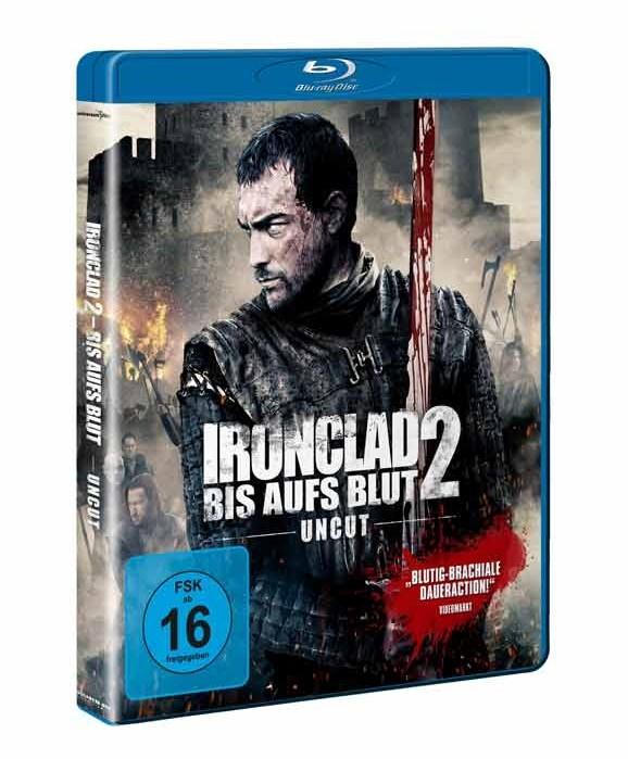 Medien IRONCLAD 2 – BIS AUFS BLUT // ab 25. Juli 2014 als Blu-ray, DVD und VoD! - News, Bild 1