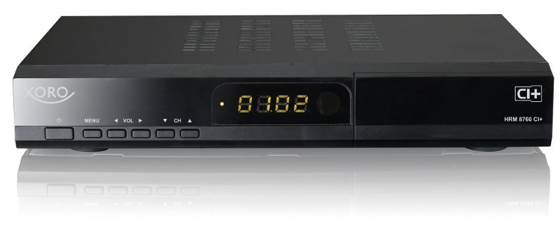 TV XORO HRM 8760 CI+: DER DVB Multi-Tuner Receiver - News, Bild 1