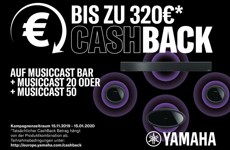 Heimkino Cashback bei Yamaha nur noch bis 15. Januar - Aktion für MusicCast-Surround-Bundles - News, Bild 1