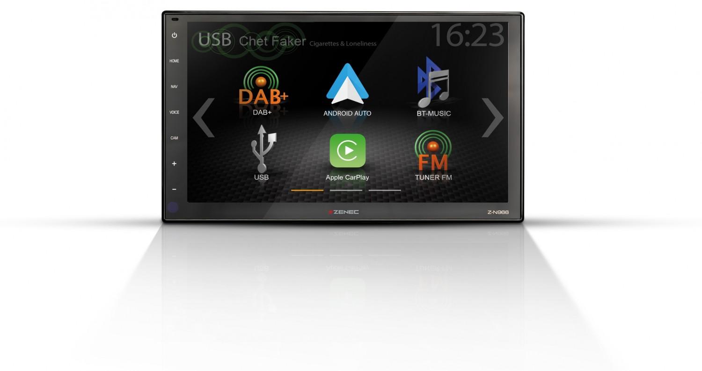 Car-Media 9/22,9-cm-Infotainer mit HD-Display (1280 x 720 Pixel) - News, Bild 1
