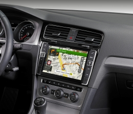 Car-Media Riesiges Infotainment-System mit 23 cm Diagonale von Alpine für den Golf VII - News, Bild 1