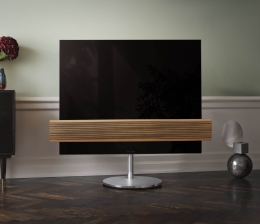 "TV TV BeoVision Eclipse von Bang & Olufsen ab April als ""Wood Edition"" mit Eichenlamellen - News, Bild 1"