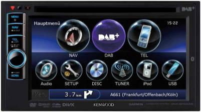 Car-Media DAB+ Navigationssystem und Komfort-Bluetooth-Autoradio von Kenwood - News, Bild 1