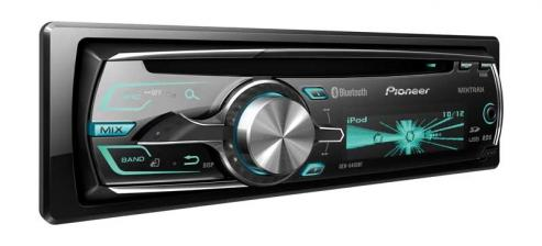 Car-Media DEH-6400BT - CD-Tuner mit MIXTRAX  und iPod,iPhone Steuerung - News, Bild 1