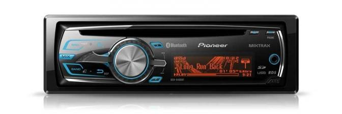 Car-Media DEH-6400BT - CD-Tuner mit MIXTRAX  und iPod,iPhone Steuerung - News, Bild 2
