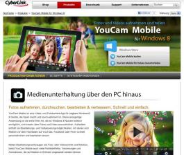 mobile Devices CyberLink veröffentlicht YouCam Mobile für Windows 8 - News, Bild 1