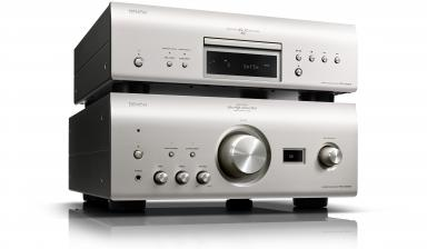 HiFi Neues Denon-Duo: Vollverstärker mit High Resolution D/A-Wandler und Super Audio CD-Player - News, Bild 1