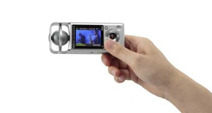 Foto & Cam Zoom Q2 HD: Video-Pocketrekorder für HD-Videos mit perfektem Ton und Live-Streaming - News, Bild 1
