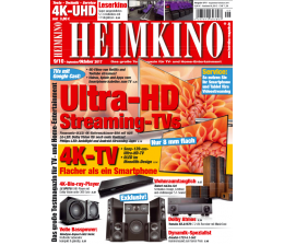 "Heimkino Ultra-HD Streaming-TVs mit Google Cast: Spannende Details in der neuen ""HEIMKINO"" - News, Bild 1"