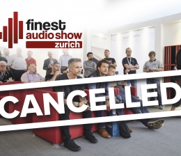 High-End Absage der Finest Audio Show Zurich 2021 - News, Bild 1