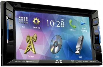 Car-Media Bluetooth-Multimedia-Receiver im Doppel-DIN-Format von JVC - 15,7 cm großes Display - News, Bild 1