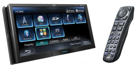 "Car-Media Multimedia-Receiver mit 7-Zoll WVGA-Touch-Screen-Panel, Bluetooth und innovativer ""Motion Sensor""-Funktion - News, Bild 1"